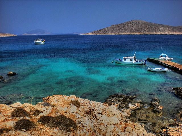 Греция. Родос. На побережье двух морей