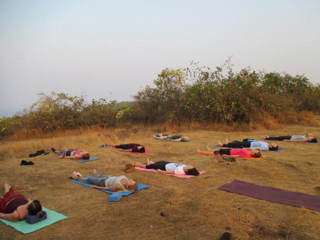 Регулярный выездной йога-тренинг с Любомирской Ольгой в Гоа