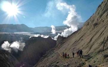 «Страна огнедышащих гор» йога-тур на Камчатку