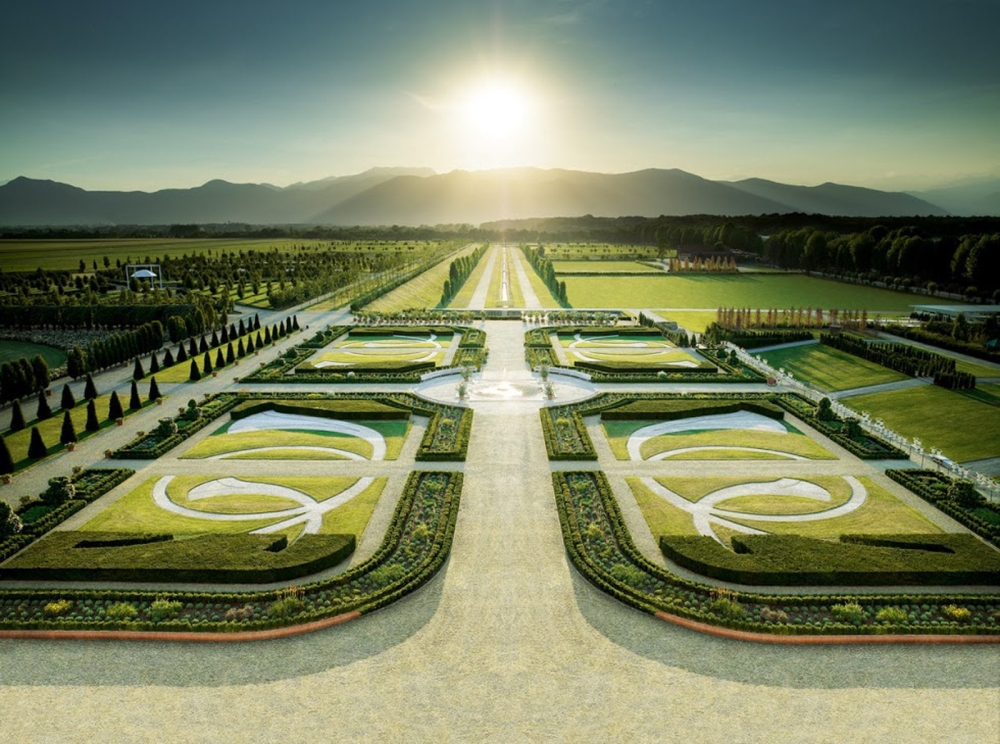 Королевские сады Турина