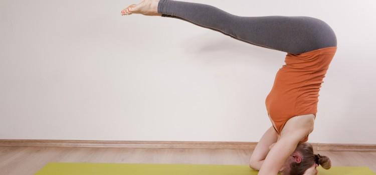 Философия йоги. Комплекс перевернутых асан