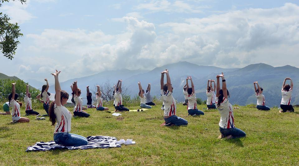 Женский выездной семинар в Бакуриани. Энергетические практики и хатха-йога