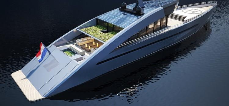 Революционное решение на рынке экологически чистого оборудования — яхта «Sky Ya»