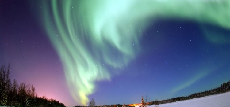 Финские ученые узнали, как звучит северное сияние (Видео)