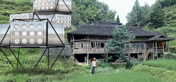 Создан дом-конструктор, который можно взять с собой и построить в любом месте