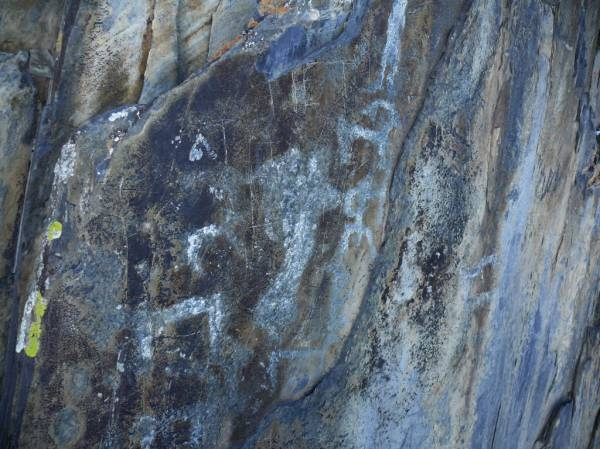 петроглифы Бичикту-Кая-Бом