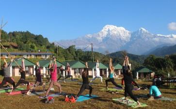 Йога-тур в Непал с индийскими учителями