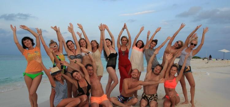 Йога-тур на райский остров – Мальдивы!