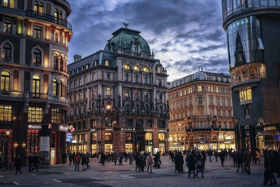 Вечер в Вене. Австрия