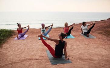 Фотоотчет с йога тура в Варкале