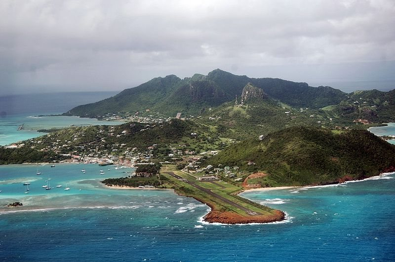 Гренадины. Остров Юнион