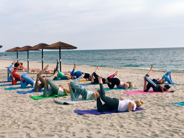 Йога-тур в Грецию